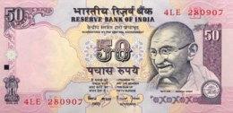 India 50 Rupees, P-90e (1997) - UNC - Sign. 88 - Indien