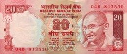 India 20 Rupees, P-96b (2007) - UNC - Indien