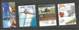 Israël N°1778, 1785 à 1787 Neufs** Cote 6.20 Euros - Israel