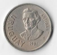 Uruguay 1981 10 Nuevos Pesos [C210/1D] - Uruguay