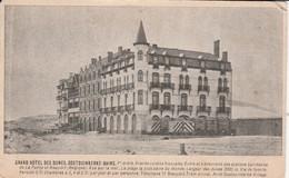 OOSTDUINKERKE GRAND HOTEL DES BAINS - Oostduinkerke