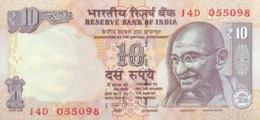 India 10 Rupees, P-102b (2011) - UNC - Indien