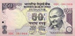 India 50 Rupees, P-104d (2013) - UNC - Indien