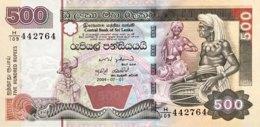 Sri Lanka 500 Rupees, P-119c (1.7.2004) - UNC - Sri Lanka