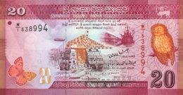 Sri Lanka 20 Rupees, P-123a (1.1.2010) - UNC - Sri Lanka