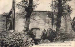 MILITARIA  GUERRE 1914- 18  CARENCY  Ruines De L' Eglise  .... - Guerre 1914-18
