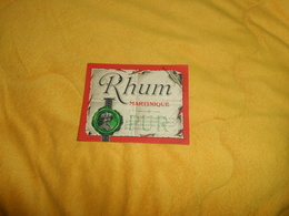 ANCIENNE ETIQUETTE RHUM DATE ?../ RHUM MARTINIQUE PUR.. - Rhum
