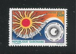 REPUBLIQUE GABONAISE - 1965 - Valore Nuovo Stl Da 85 F. - ANNO INT.LE DEL SOLE CALMO - In Buone Condizioni. - Gabon (1960-...)
