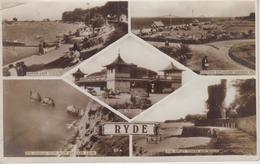 CPA Isle Of Wight - Ryde (avec 5 Vues) - Angleterre