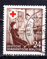 DDR 1953 Mi. 385 Rotes Kreuz Gestempelt (pü2769) - DDR