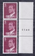 Spain. 1976 - Basica - Triptico Numerado Ed 2347A (**) - 1931-Hoy: 2ª República - ... Juan Carlos I