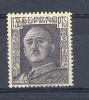 Spain 1949, Franco, 1,35 P  Ed 1061 (**) - 1931-50 Unused Stamps