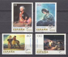 Spain 1996 - Francisco De Goya Ed 3437-40 (**) - 1931-Hoy: 2ª República - ... Juan Carlos I