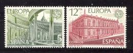 Spain. 1978. Europa Ed 2474-75 - 1931-Hoy: 2ª República - ... Juan Carlos I