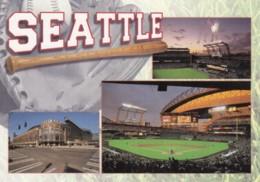 Seattle Mariners Baseball Stadium 'Safeco Field' C1990s/2000s Vintage Postcard - Baseball