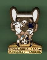 FOOT *** OLYMPIQUE DE MARSEILLE - GLASGOW RANGERS *** 27-03 - Football