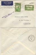 ALGERIE ALGERIA 109 127 (o) Lettre Cover Constantine 1938 - Algeria (1924-1962)
