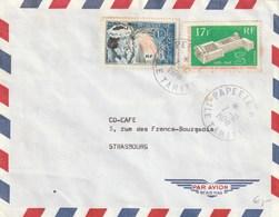 LETTRE  1970 PAPEETE OIT - Polynésie Française