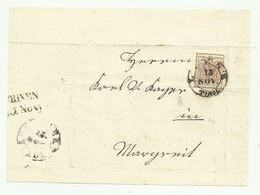Francobollo 6 Kreuzer Da Lienz 1856 - Oblitérés