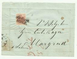 Francobollo 3 Kreuzer Da Botzen  1852 - Oblitérés