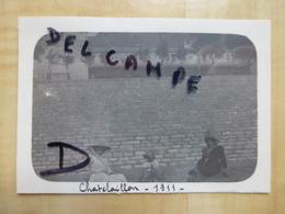 17 CHATELAILLON - FEMMES BOURGEOISES A LA PLAGE 1911 PHOTO - Châtelaillon-Plage
