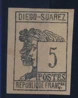 DIÉGO-SUAREZ - COLONIE     N°7 - Diégo-Suarez (1890-1898)