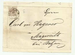 Francobollo 6  Kreuzer Da Innsbruck 1853 - Gebraucht