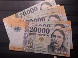 BILLET Hungria Hungary Magyar 20000 Forints - Espagne