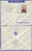 ALGERIE ALGERIA Poste Aérienne  13 (o) Exposition Philatélique Algérienne Par Avion Air France Novembre 1949 - Algérie (1924-1962)