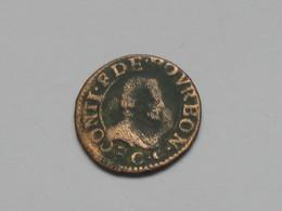 Double Tournois - CONTI DE BOURBON   ***** EN ACHAT IMMEDIAT ***** - 987-1789 Monnaies Royales