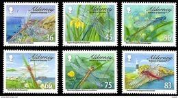 Aurigny Alderney 2010 Yvertn° 370-375 *** MNH Cote 15 Euro Faune Dragonflies Libelle - Alderney