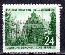 DDR 1952 Mi. 318 Augusteum In Wittenberg Gestempelt (pü2763) - DDR