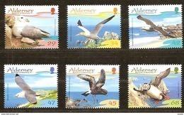 Alderney Aurigny 2006 Yvert 281-286 *** MNH Cote 13,50  Euro Faune Oiseaux Vogels Birds - Alderney