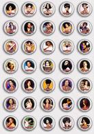 35 X Diana Ross Music Fan ART BADGE BUTTON PIN SET 1 (1inch/25mm Diameter) - Music