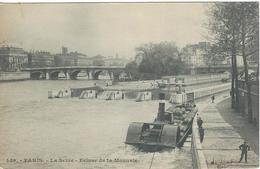 75 PARIS LA SEINE ECLUSE DE LA MONNAIE 449 - The River Seine And Its Banks