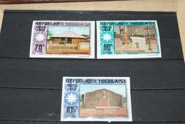 """Lot Timbres Non Dentelés Du Togo """"Noël 1983"""" Plus Bloc Feuillet - Togo (1960-...)"""