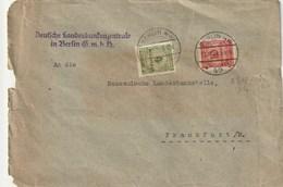 BRIEF BERLIN NW 1923 - Briefe U. Dokumente
