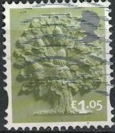 Royaume Uni 2017 Oblitéré Used Arbre Oak Tree Chêne 1.05 Livre Sterling SU - 1952-.... (Elizabeth II)
