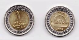 Egypt,One Pound 2019 UNC,New The Capital Of Egypt, 埃及,Egypte - Egitto
