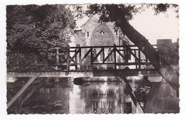 91 Montgeron Le Moulin De Senlis La Passerelle Sur L'Yerres - Montgeron