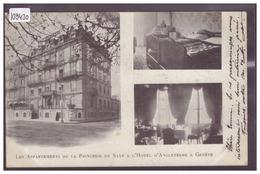 GENEVE - LES APPARTEMENTS DE LA PRINCESSE DE SAXE A L'HOTEL D'ANGLETERRE - TB - GE Genève