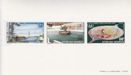 1975 Gabon Montreal Olympics Architecture    Souvenir Sheet  MNH - Gabun (1960-...)