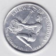 MEDALLA KREWE OF PANDORA, NEW ORLEANS MARDI GRAS. PANDORA'S MAJESTIC ODYSSEY 1988. D.I. DIAM 4cm WEIGHT 10grs- BLEUP - Badges