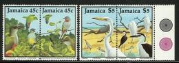 JAMAICA  1988  BIRDS  SET  MNH - Oiseaux