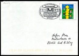 07333) BRD - USo 20II - SoST 93947 REGENSBURG 1 Vom 22.09.2002 - Bundestagswahl 2002 - Sobres - Usados