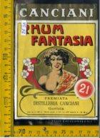 Etichetta Vino Liquore Rhum Fantasia Canciani Gorizia - Etiquettes