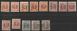 Typo89-89II-91-92A-94-96-97--98-100-102-104 - Typos 1922-31 (Houyoux)