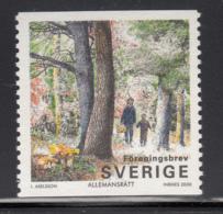 Sweden 2000 MNH Sc #2375 (3.80k) People In Forest - Suède