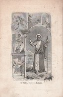 Franciscus Cornelius Van Havere-st.nicolaes 1795-1855 - Images Religieuses