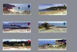 SEPAC 2011 Jersey -Views Of Jersey Including 2011 Sepac - Set Of 6 V - Paper -MNH** Lighthous MiNr. 1590 - 1595e - Leuchttürme